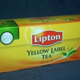 lipton  yellow label tea 25 *2 g